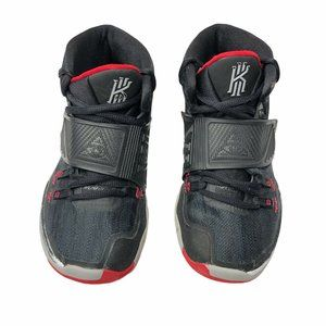 Nike Kyrie Irving 6 Black Bred Basketball Shoes 2